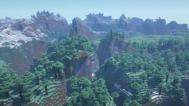 A Minecraft screenshot of a new world created with the seed 3427891657823464.