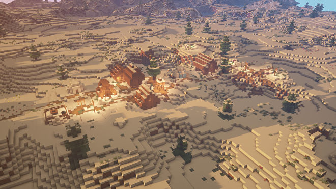 A Minecraft screenshot of a new world created with the seed -7255571058704538969.