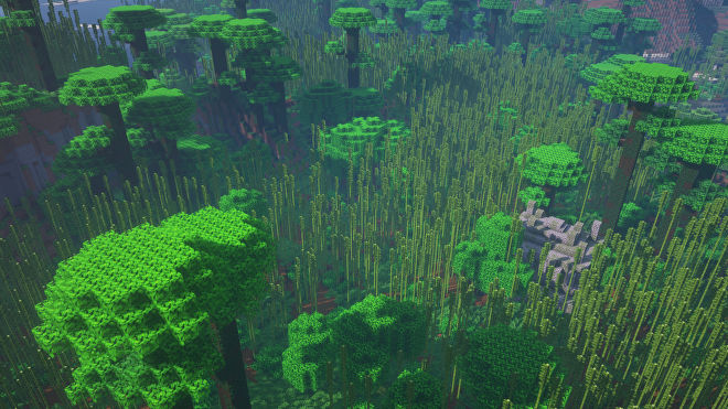 A Minecraft screenshot of a new world created with the seed 3376637928641427494.