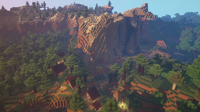 A Minecraft screenshot of a new world created with the seed 1777181425785.