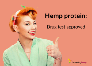 Hemp protein is drug test approved