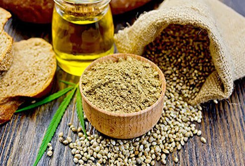 Hemp seeds are an excellent source of heart-healthy omega-3 and omega-6 fatty acids.