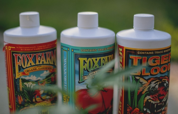 Three Different Weed Fertilizers